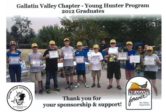 Pheasants forever youth training program